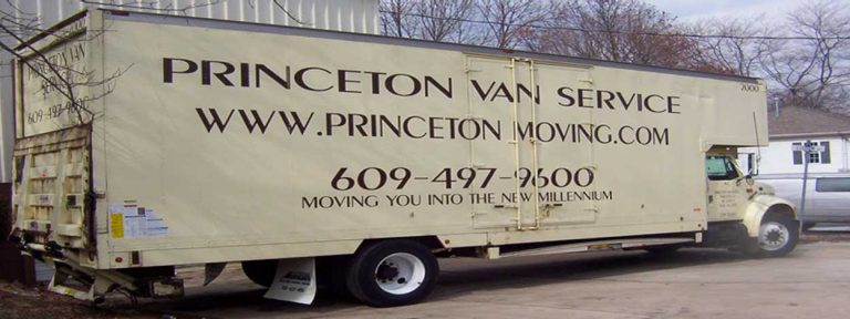 Princeton Van Service, Moving and Storage