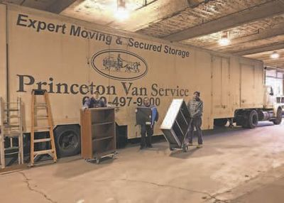 Princeton Van Service – Moving & Storage- Helps Move Cranbury Library