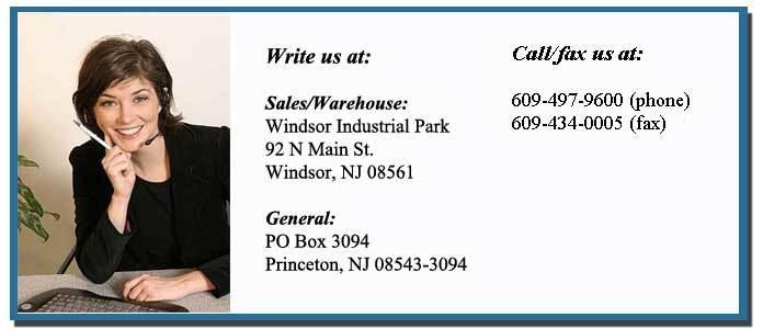Contact Princeton Van Service, NJ