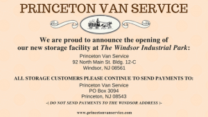 Princeton Van Service- Movers in NJ