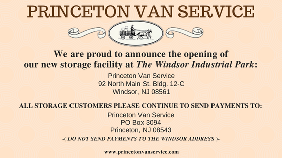 Princeton Van Service- Movers in NJ