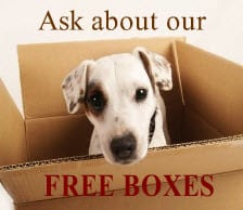 free moving boxes, offer, PVS, special